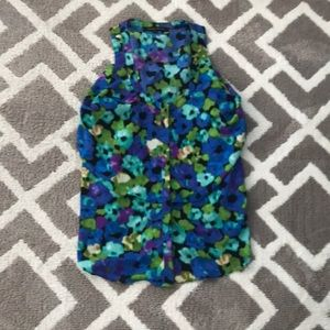 Cynthia Steffe water color flower tank top